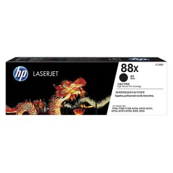 HP 88X Black LaserJet Toner Cartridge