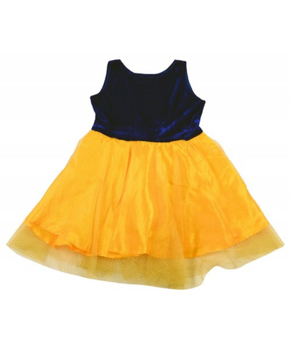 b69a50e8e 9-10Year And 6-12Month Yellow And Black Baby Girl s Self Design ...