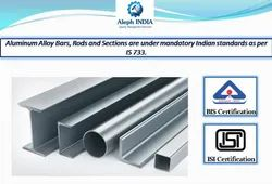 ISI Mark Certifications for Aluminium Alloy Bars, Rods and Sections