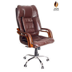 JSM High Back Brown Executive Chair, Rs 5000 /piece, JSM Office Systems |  ID: 17300528191