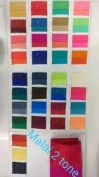 For Textile Malai 2 Tone Fabric