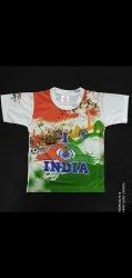 Dry Fit Indian Flag T Shirts