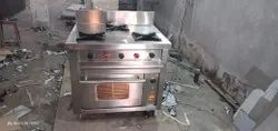 Three Burner With Oven