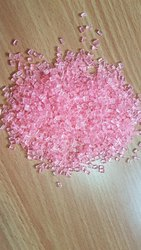 Polycarbonate Transparent Pink Granules