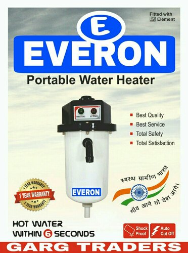 ISI Everon Portable Instant Geyser, Capacity: 10-25 Litres