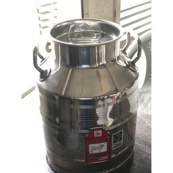 35 Litre Stainless Steel Milk Can