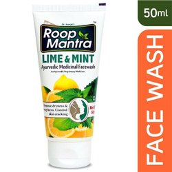 50ml Roop Mantra Lime And Mint Face Wash
