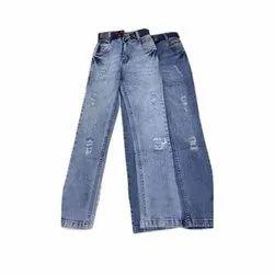 Casual Wear Kids Stretchable Denim Jeans, Size: 32 x 40, Machine Wash, Hand Wash