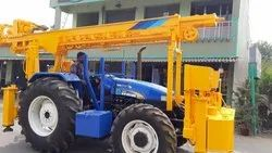 High Quality Hydraulic Tractor Mounted Water Well Drilling Rig