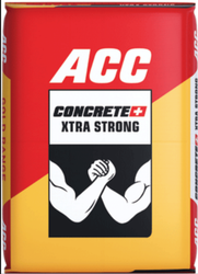 Ultratech PPC (Pozzolana Portland Cement) ACC Concrete Plus, Packaging Size: 50 Kgs, Cement Grade: General High Grade