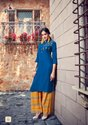 Amaze-Parra Studio New Latest Ruby Cotton With Work Kurti With Palazzo Collection