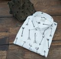 Male Hand Block Printed Cotton Shirt, Age: 18 - 35