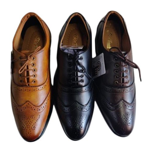 Brogue Semi Formal Shoes, Size: 6-10