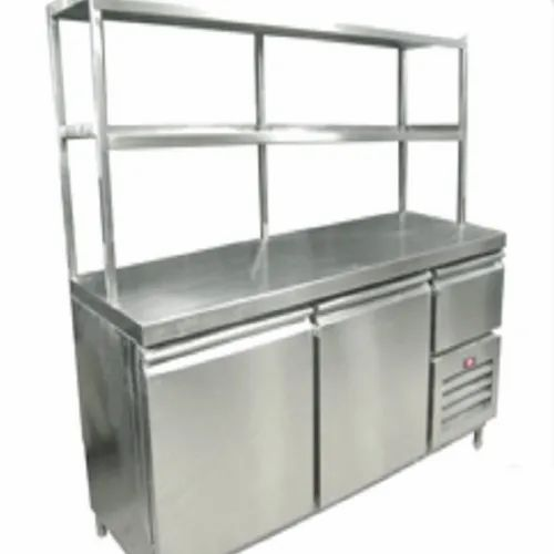 Silver Mbh Stainless Steel Bar Counter