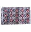 Multi Color Printed Kantha Bedspread