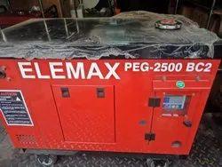 Elemax PEG 2500 BC2 Portable Diesel Generator