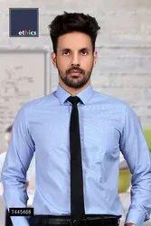 Light Blue Plain Uniform Shirts for Office Staff