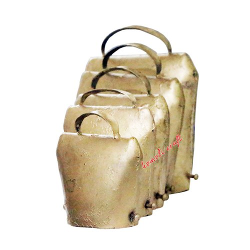 Indian Rustic Cow Bell Various Sizes