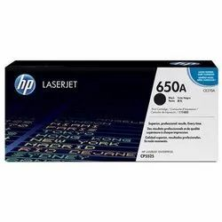 HP CE270A 650A Black Toner Cartridge