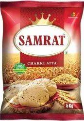 Samrat Chakki Atta, 5 Kg, Packaging Type: Packet
