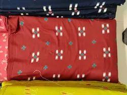Discharge Rayon Printed Fabric