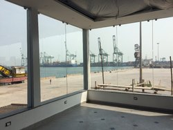 Toughened Glass Partition Work