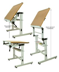 Study Table Adjustable & Foldable, Size: 23