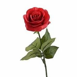 Polyethylene Artificial Red Rose, Packaging Size: Packet