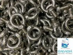 Round Steel Eye Bolt for Industrial, Size: M6 To M100