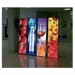 Prolegend P2.5 LED Poster Display, Input Voltage: 230 V, Free Stand