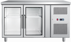 Quality Enterprises Double Door Horizontal Refrigerator Freezer, Capacity: 500 L