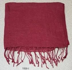 100% Pure Linen Solid color Scarves