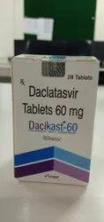 Dacikast Daclatasvir 60 Mg Tablets