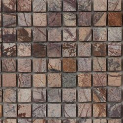 Capstona  Stone Mosaics Chocolate Tiles