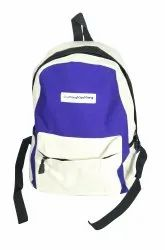 Blue And White Kid Bag