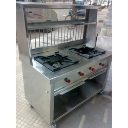Two Burner Service Counter