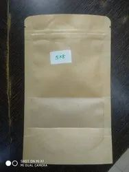 Paper pouch with heat seal coating