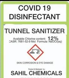 Tunnel Factory Hospital House Area City Anti Covid Sanitization Chemical