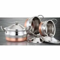 Kishco Copper Bottom Handi Set