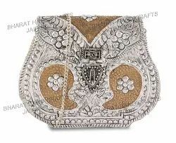 Silver Golden Plated Purse
