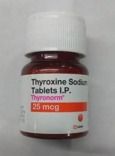 Thyronorm 25 Mcg Packaging Size 120 Rs 180 Bottle Molecule Impex Trading Company Id 21778072397