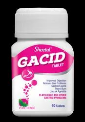 Gacid Tablets, for Personal, Packaging Type: Bottle