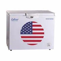 Horizontal Hardtop Aluminium Celfrost Deep Freezer, 220-440V, -20 To +8