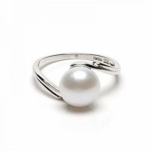 f47a1c3da Jaipur Gemstone White Natural Pearl Stone Ring, 5 To 15 Carat, Rs ...