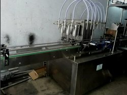 Automatic Syrup Bottle Filing Machine