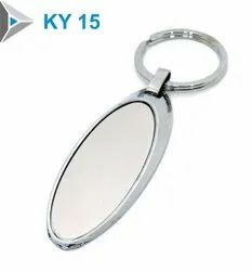 Metal Keychain, Packaging Type: Polybag, Model Name/Number: Ky-15