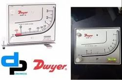 Dwyer Mark II Model 41-2 Manometer Range .2-0-2.4 Inches