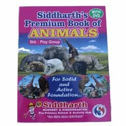 Kids English Animals Book For Play Group, Siddharth Publication