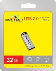 Bontech 32gb Pendrive With 6 Month Guarantee