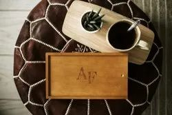 Wedding Photography Wooden Box for Packaging